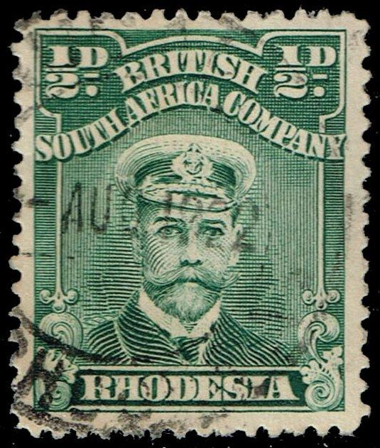 Rhodesia #119 King George V; Used (2.50)