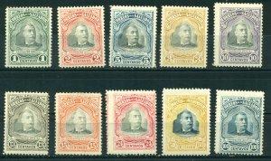 El Salvador 1906 #O263-O272 MH SCV (2018) = $4.80
