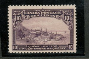 Canada #101 Very Fine Mint Lightly Hinged