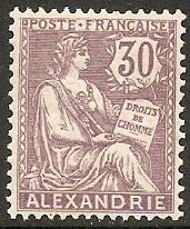 1903 Alexandria Scott 25 Rights of Man MH