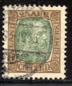 Iceland # 41, Used. CV $ 7.00