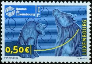 Luxembourg #1145 Luxembourg Stock Exchange MNH