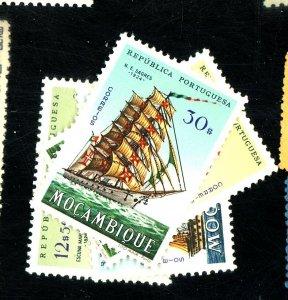 MOZAMBIQUE 451-4 MINT FVF OG LH Cat $13