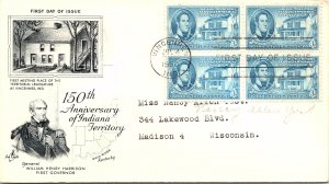 United States, Indiana, First Day Cover