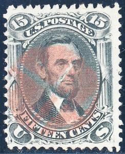 #77 VF+ USED WITH RED FANCY CANCEL HB347 BQ1909