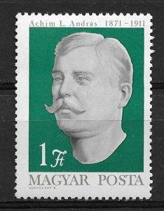 1971 Hungary 2064 Andras L Achim, Peasant Leader MNH