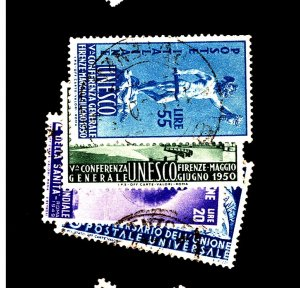 Italy #514 522 533-4 Used F-VF 514 Crease Cat $44