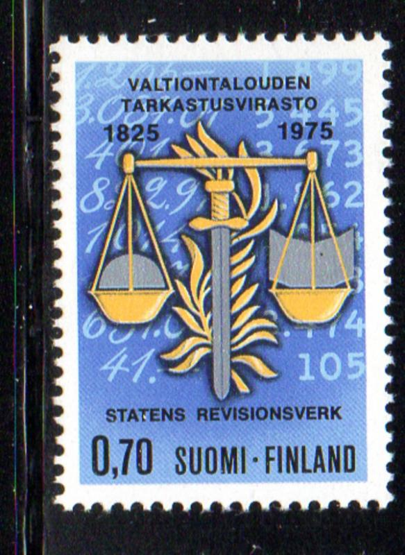 Finland Sc 5741975 Economic Comptroller stamp NH