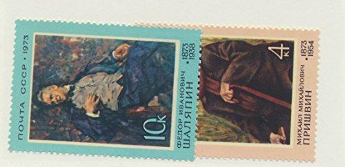 Russia Scott #4056 To 4057, Portraits Issue From 1973 - Free U.S. Shipping, F...