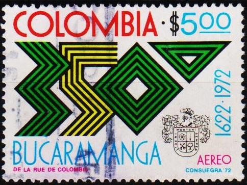 Colombia. 1972 5p S.G.1330 Fine Used
