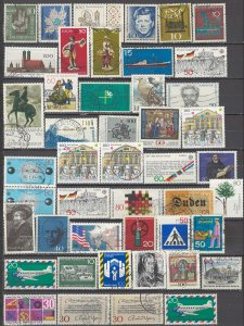 COLLECTION LOT OF #1230 GERMANY 46 STAMPS 1956+ CLEARANCE
