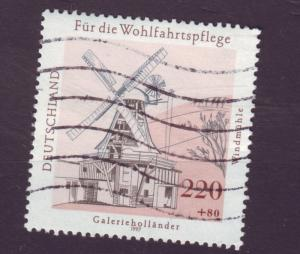 J6741 JLs stamps 1997 germany used hv set #b824 wind mill