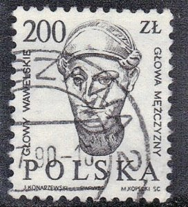 POLAND SC# 2744 USED 200z 1986-89   SEE SCAN