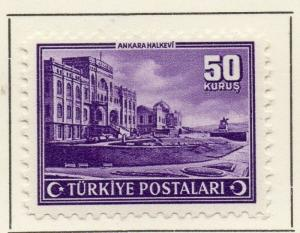 Turkey 1943 Early Issue Fine Mint Hinged 50k. 185653