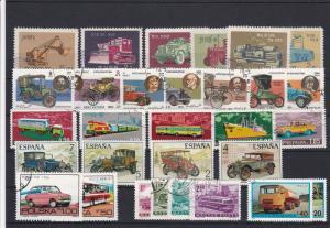 Vehicles Transport Stamps Ref 28173