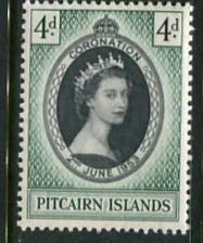 Pitcairn Is #19 MNH