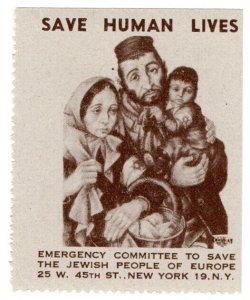 (I.B) US (WW2) Cinderella : Jewish Emergency Fund (Family)