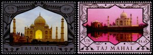United Nations - New York Scott 1090-1091 (2014) Taj Mahal, Mint NH VF C