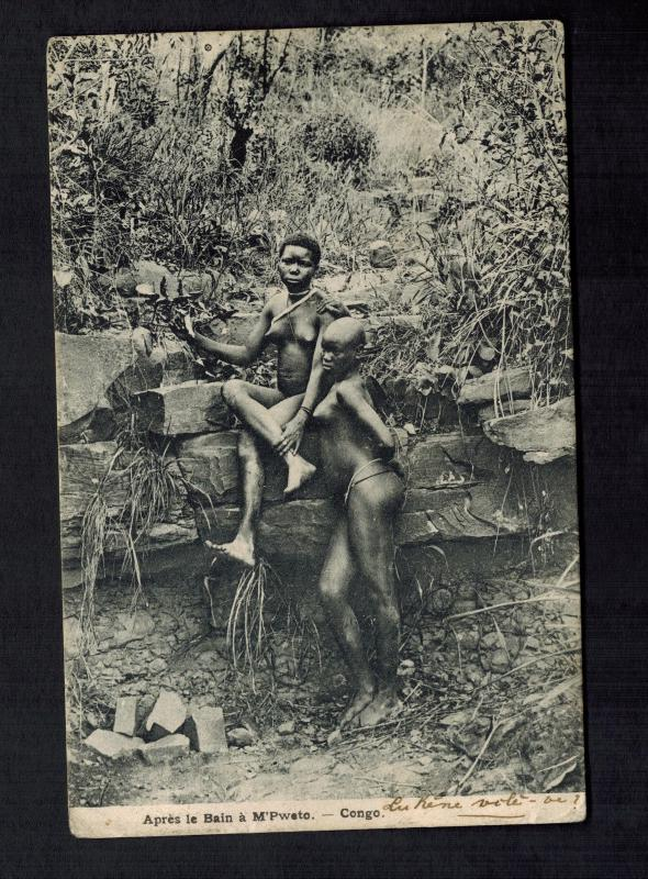 Picture of nude congo women #3
