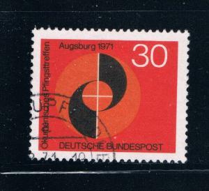 Germany 1071 Used Congress Emblem (GI0286P67)+