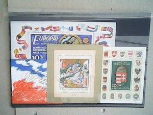 Hungary   MNH  nice souvenir sheets