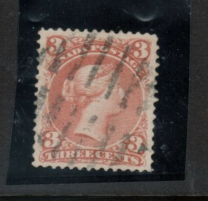 Canada #25viii Very Fine Used On Bothwell Paper