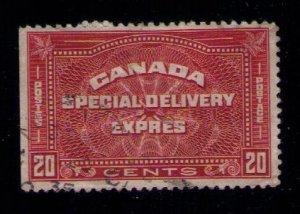 Canada Sc #E5 Used Special Delivery F-VF