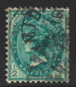 New South Wales Sc#102 Used - perf 12x11.5