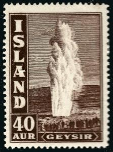 Iceland Attractive Sc #206 Mint OG F-VF