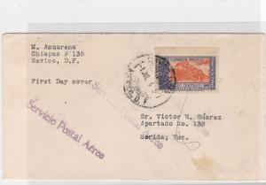 mexico   stamps cover 1936  ref r12859