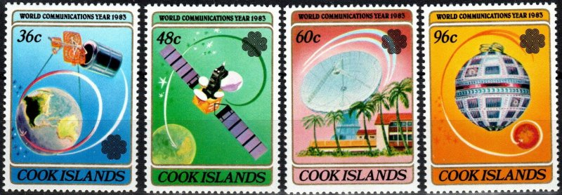 Cook Islands #744-7 MNH CV $4.75 (X4123)