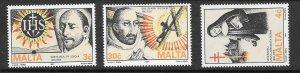 MALTA SG890/2 1991 RELIGIOUS COMMEMORATIONS MNH