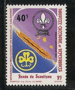 New Caledonia C183 1982 Scouts single MNH