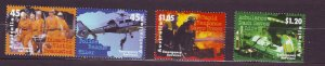 J23757 JLstamps 1997 australia set mnh #1602-5 emergency service