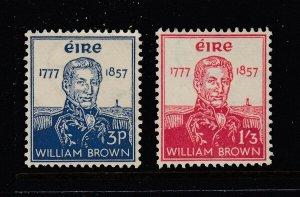 Ireland #161-162 SET (Mint Never Hinged) cv$48.75