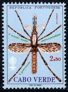 Cape Verde 326, MNH. WHO drive to eradicate malaria, 1962