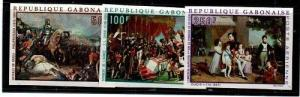 Gabon Scott C83-5 Mint NH imperf (Catalog Value $34.00)