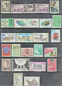 BELGIUM LOT #4 ASSORTED  MH & USED STAMPS  SEE SCAN