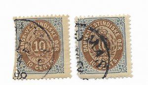 Denmark #10 Faults - Stamp - CAT VALUE $30.00 PICK ONE
