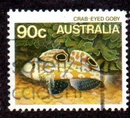 AUSTRALIA 918 USED BIN $1.00 MARINE LIFE