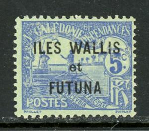 Wallis and Futuna Islands J1 Unused (MH)