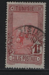 TUNISIA , Q8, USED, 1906 Mail delivery