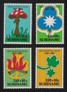 Suriname 40th Anniversary of Surinam Girl Guides 4v SG#1315-1318