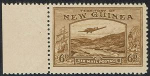 NEW GUINEA 1939 BULOLO AIRMAIL 6D MNH **