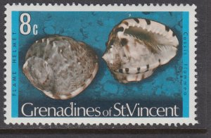 St Vincent Grenadines 39 Seashell MNH VF