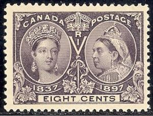 Canada #56  Mint  VF  NH   - Lakeshore Philatelics