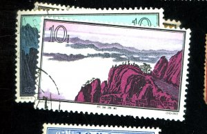 Peoples Rep of Chine #724-6 Used FVF Cat$28.50