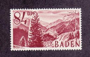 Germany (Baden) Scott #5N26 MNH