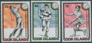 Cook Islands 1985 SG1044-1046 Mini Games set MNH