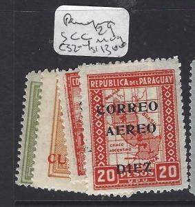 PARAGUAY   (PP0209B)   SC C29, 32-4   MOG
